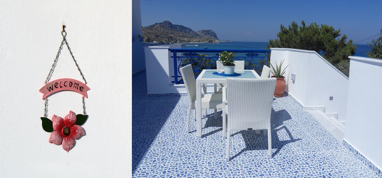 Studios pour des vacances en Grèce